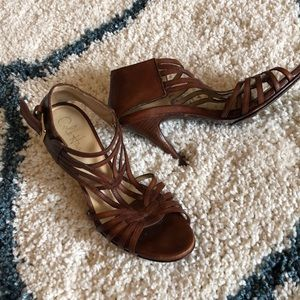 Cole again leather heeled sandals Size 6.5